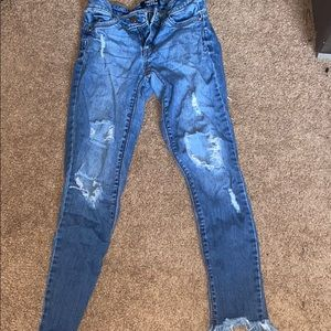 Forever 21 push-up jeans